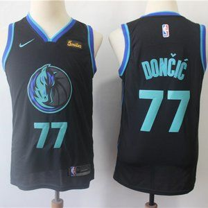 Youth Dallas Mavericks #77 Luka Doncic Jersey